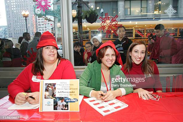 old navy elfs during aj pierzynski of the chicago white soxs with old navy and the - Old Navy Christmas Eve Hours