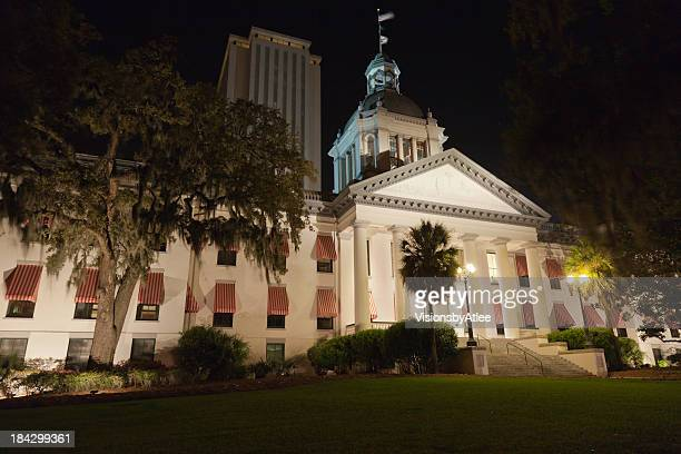 old & new capital, tallahassee fl - florida landscaping stock pictures, royalty-free photos & images