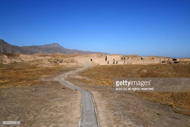 Old Nisa archaeological site near Ashgabat / Turkmenistan
