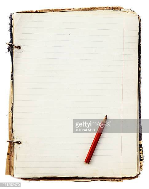 old notebook binder style
