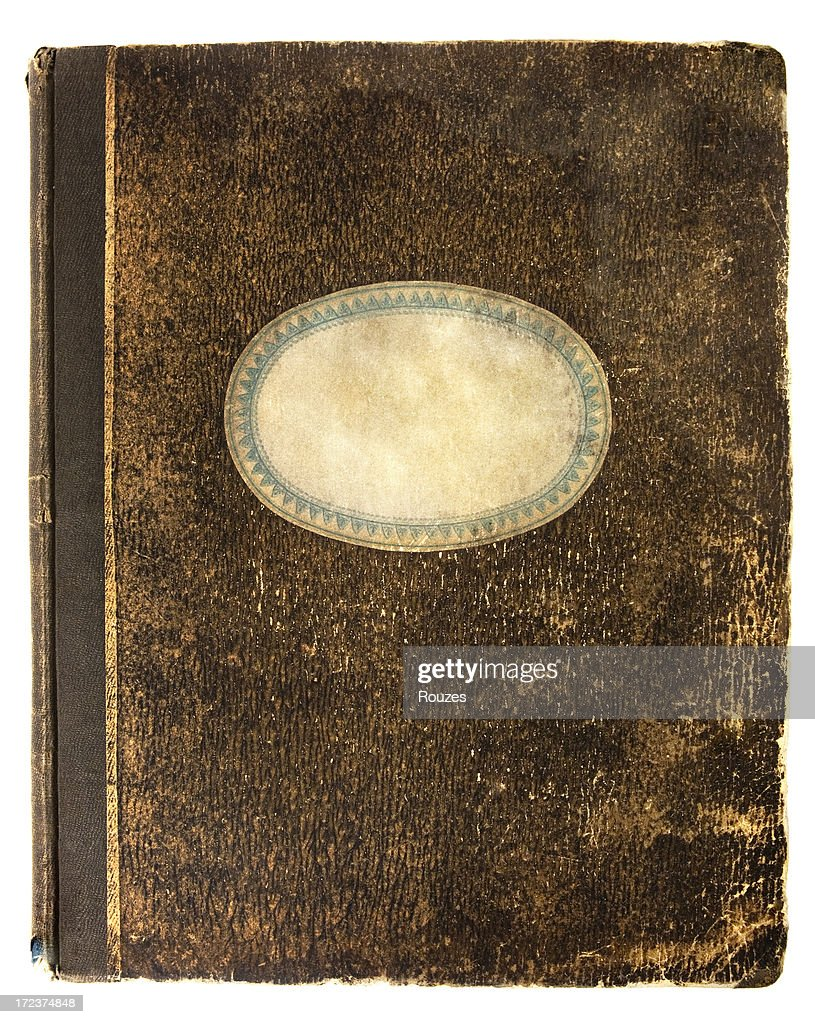 Old notebook's cover : Stock Photo