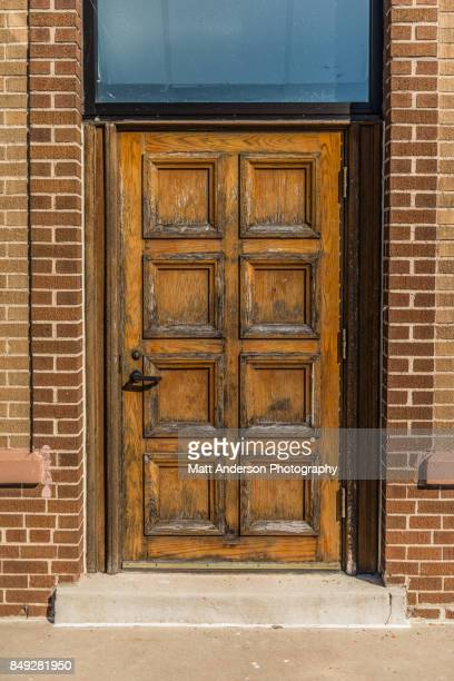 old oak door 2 - sandalwood stock pictures, royalty-free photos & images