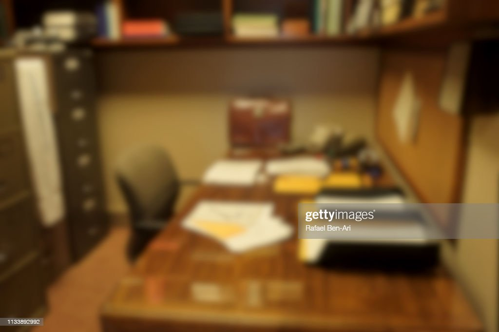 Old office interior : Stock Photo