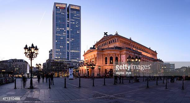 in Frankfurt old opera house