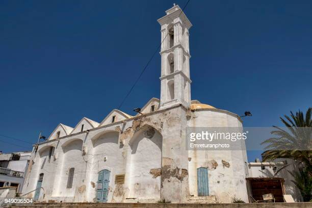 old orthodox church building in girne. - emreturanphoto ストックフォトと画像