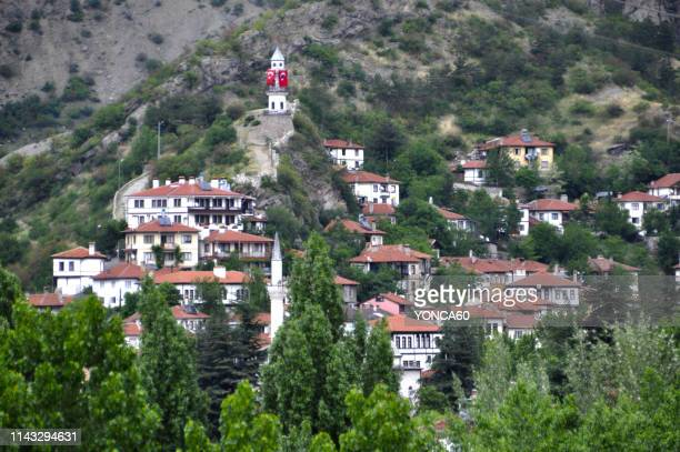 old ottoman town, goynuk - bolu city stock photos and pictures