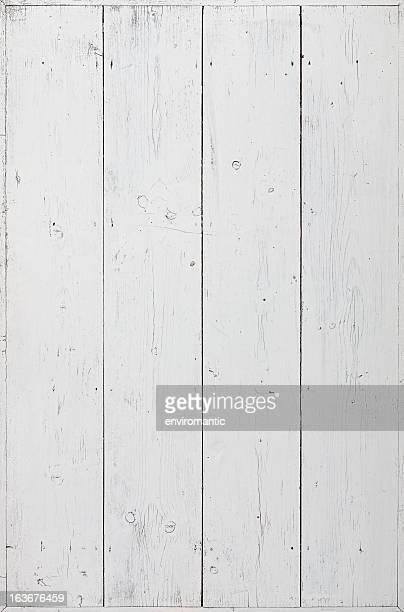 old painted wooden board background. - white wood stock pictures, royalty-free photos & images