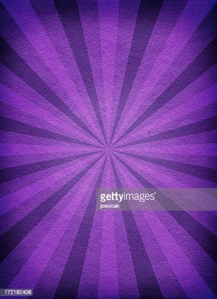 Old Paper Background with Purple Rays