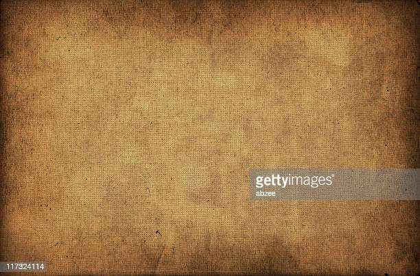 old paper texture and stained fabric - sepia stock pictures, royalty-free photos & images