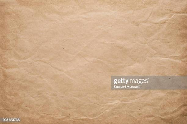 old paper texture background - brown paper stock pictures, royalty-free photos & images