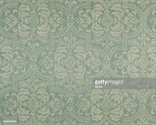old paper with floral pattern - byzantine stock pictures, royalty-free photos & images