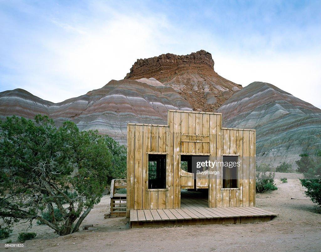 Old Paria (Pahrea) movie set, Utah : News Photo