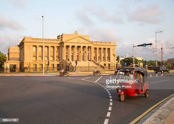 Old Parliament Building now the Presidential Secretariat offices Colombo Sri Lanka