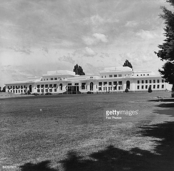 Old Parliament House in Canberra 1959 The building was the seat of government in Australia from 1927 to 1988