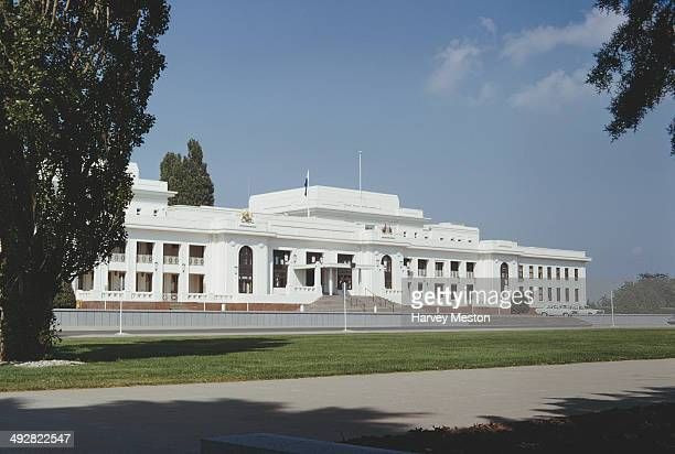 Old Parliament House in Canberra, Australia, 1968. It was the house of the Parliament of Australia from 1927 to 1988.