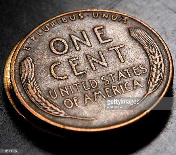 old penny - us penny stock pictures, royalty-free photos & images