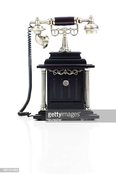 old phone. - candlestick phone stock pictures, royalty-free photos & images