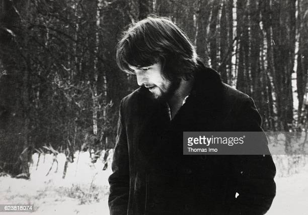 Old photo taken by FrankWalter Steinmeier as a student in Giessen in 1977 on January 01 1977 in Giessen Germany