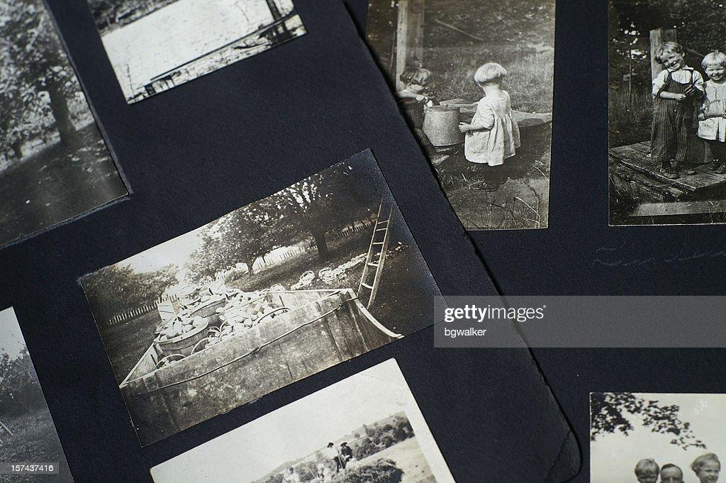 Old Photographs : Stock Photo