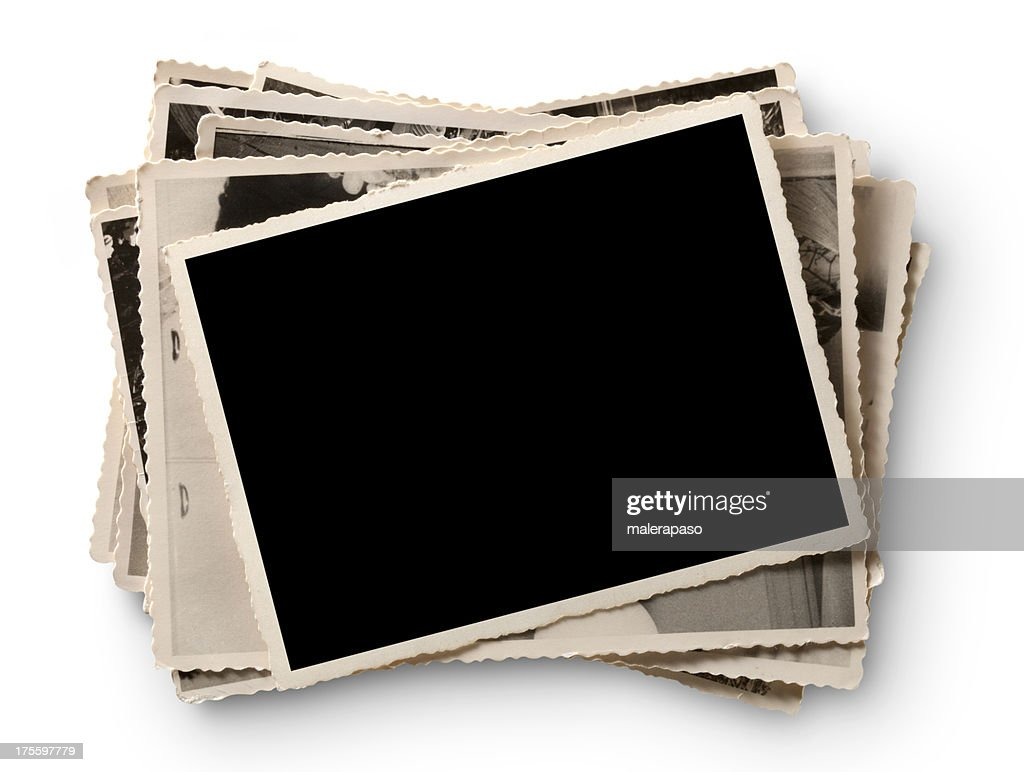 Alte Fotografien : Stock-Foto