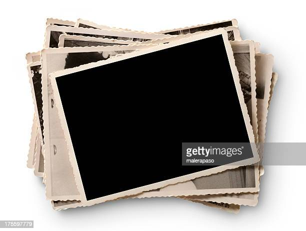 old photographs - transfer image stock pictures, royalty-free photos & images