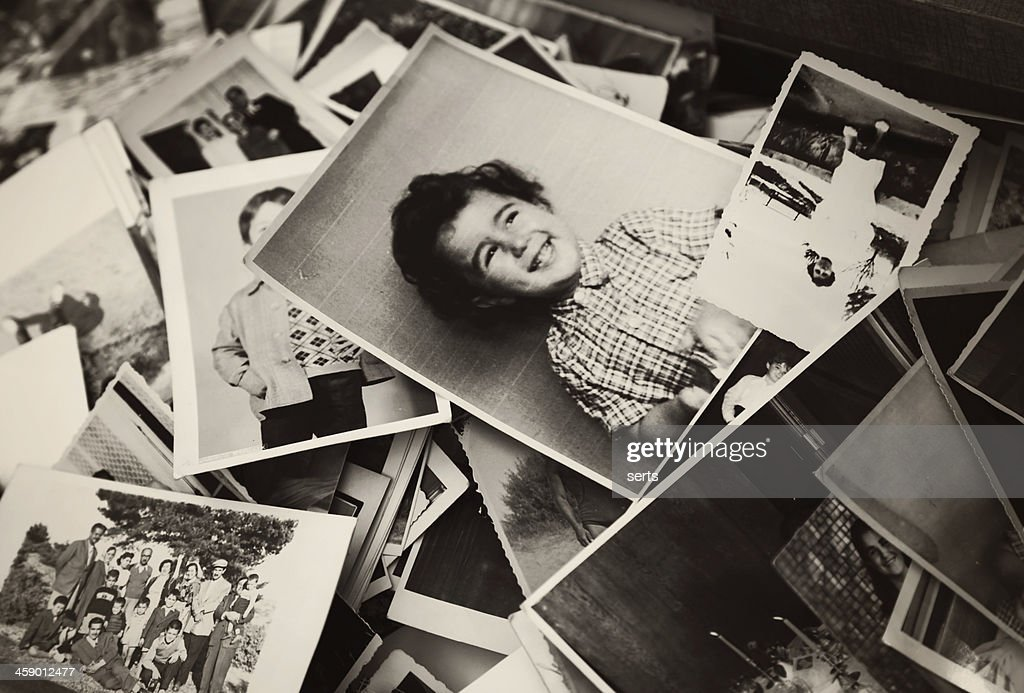 Old Photographs : Stock Photo
