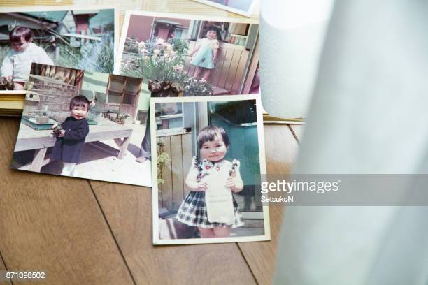 old pictures, 70's child - showa period stock pictures, royalty-free photos & images