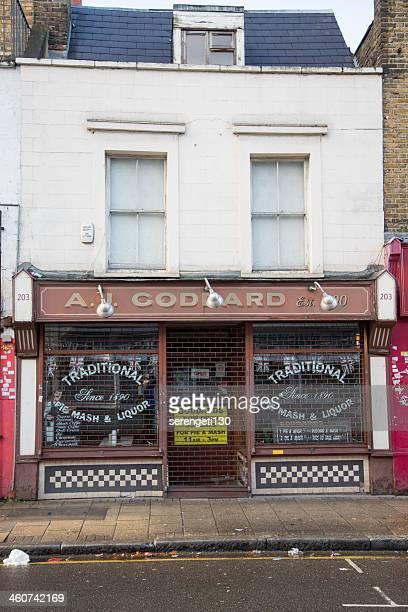 Old Kuchen und Aal Einkaufen in London