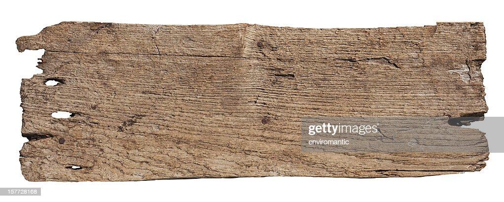 Stück der alten verwitterten Holz. : Stock-Foto