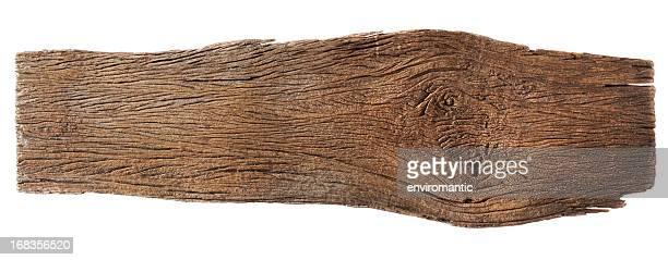 Vieux morceau de bois usé.
