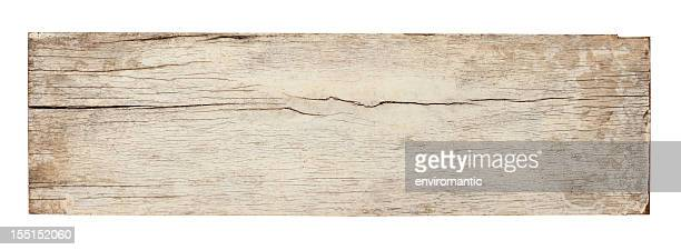 old piece of white weathered wood board. - sign stock pictures, royalty-free photos & images