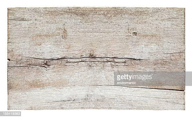 Alte weiße verwitterten Holz Bord.