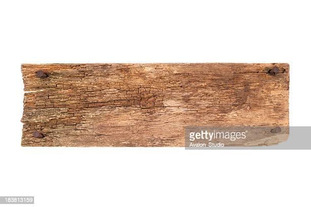 Old Plank und Nägel