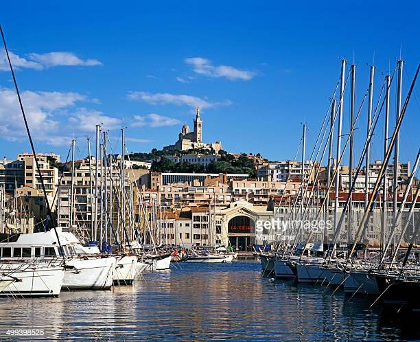Old Port and Notre-Dame de la Garde