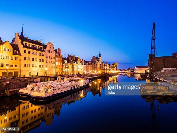 Old Port in Gdansk, Poland