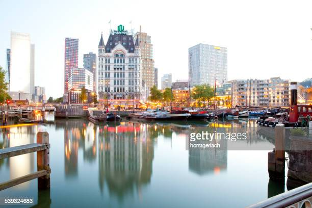 Old port in Rotterdam, Netherlands