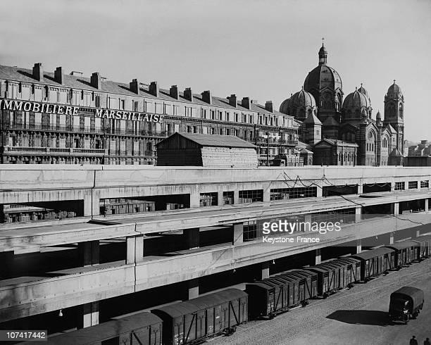 Old Port Of Marseille Rebuilding In France
