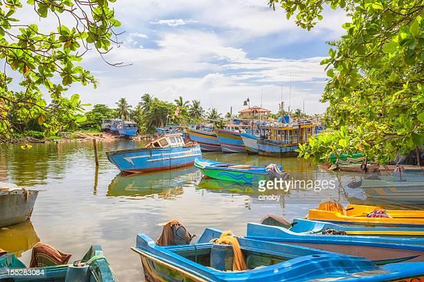 Old Port von Negombo/Sri Lanka