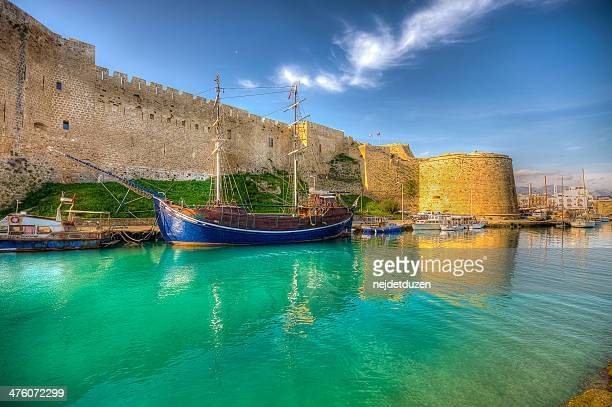 old port - republic of cyprus stock pictures, royalty-free photos & images