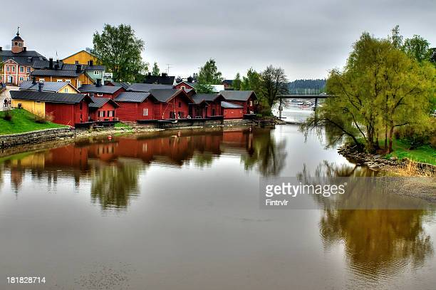 Old Porvoo river view