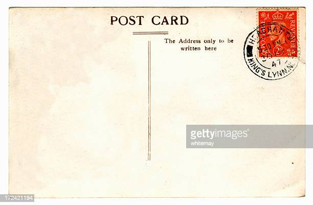 Old postcard - King George VI