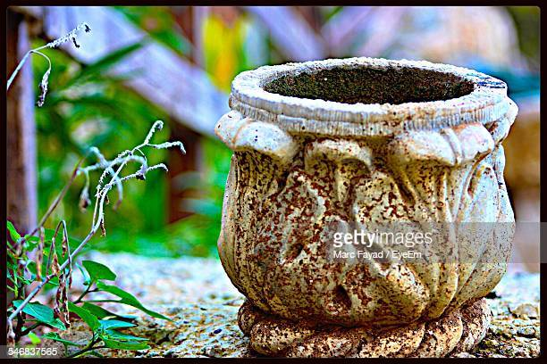 old pot in park - old beirut stock photos and pictures