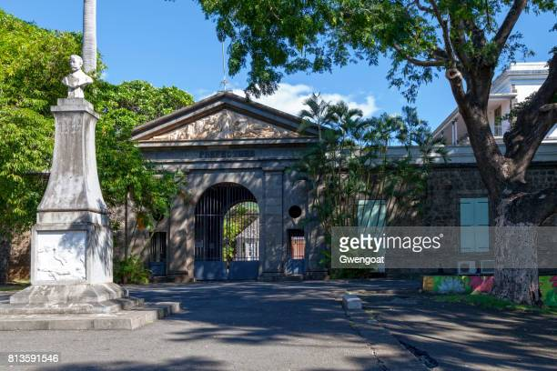 old préfecture in saint-denis de la réunion - french overseas territory stock pictures, royalty-free photos & images