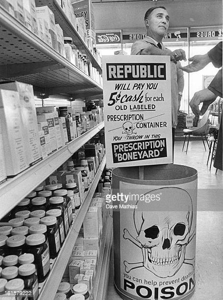 Old Prescriptions Sought; Starting Sunday, the 23 Republic Rexall drugstores in the Denver area will launch a campaign to urge the public to dispose...