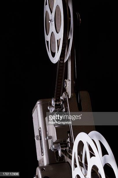 projetor antigo - filme evento de entretenimento - fotografias e filmes do acervo