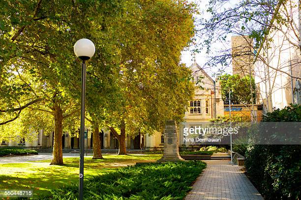 Old Quad South Lawn University of Melbourne 12th April 2015