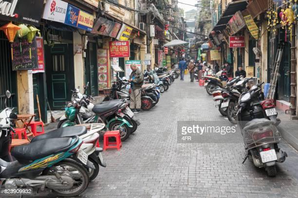 Old Quarter Downtown Hanoi, Vietnam