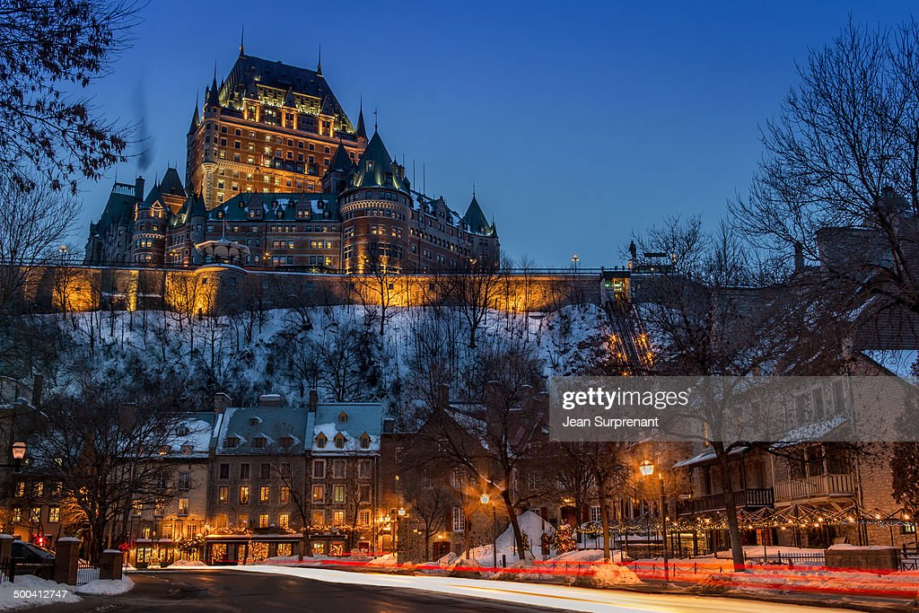 Old Quebec : News Photo