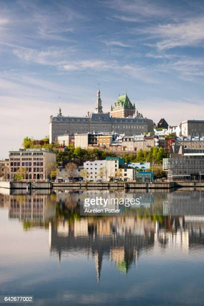 Old Quebec, Reflection on water
