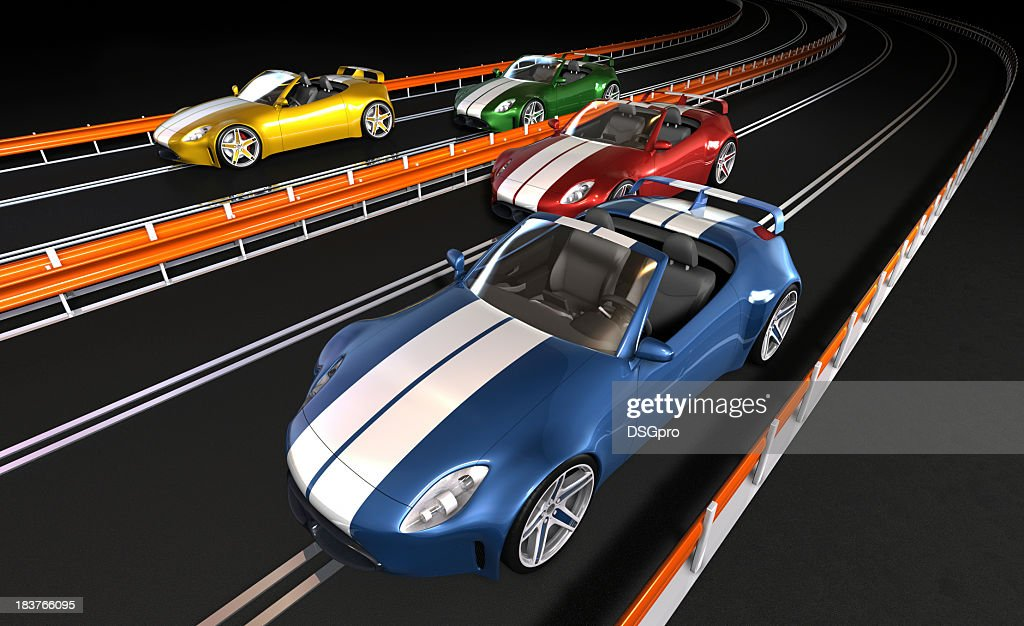 Old Race Cars That Were Fun For About 5 Mins Stock Photo | Getty ...